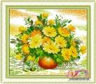 HQ002 - Bình hoa cúc