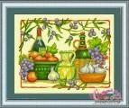 HQ003 - Giỏ hoa quả và rượu