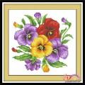 Tranh thêu hoa - HQ014