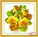 Tranh thêu hoa HQ015