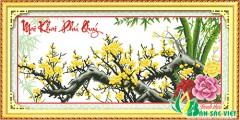 HQ034 - Mai Khai Phú Quý (Cành mai vàng)