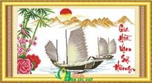 Tranh thêu PC021 - Gia Hòa Vạn Sự Hưng