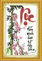 TP033 - Tranh thêu thư pháp chữ Lộc