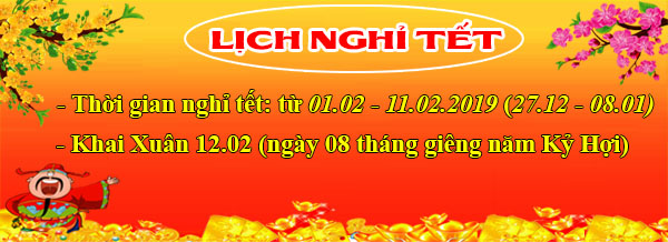 lich nghi tet 2019