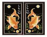 PT003 - Lý Ngư Vọng Nguyệt (Cá Chép trông trăng)