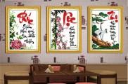 Bộ tranh Phúc Lộc Thọ (TP032, TP033, TP034)