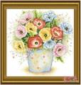HQ020 - Tranh thêu hoa The Poppies