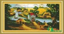 PC019 - Khung cảnh làng quê