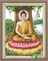 NV012 - Phật tổ ngồi gốc Bồ đề